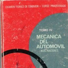 Coches y Motocicletas: MECÁNICA DEL AUTOMÓVIL, ILUSTRACIONES. EXÁMEN TEÓRICO DE CONDUCIR. Lote 43090131
