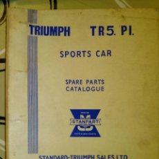 Coches y Motocicletas: TRIUMPH TR5 PI SPORTS CAR - CATÁLOGO DE PIEZAS DE RECAMBIO (1A. EDICIÓN) / MULTIDIOMA. Lote 43255334