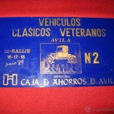 Coches y Motocicletas: PLACA CONMEMORATIVA EN PLÁSTICO. Lote 43326299