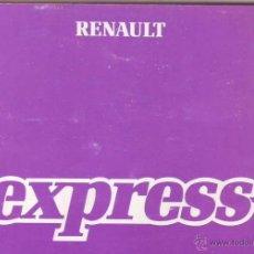 Coches y Motocicletas: MANUAL RENAULT EXPRESS. Lote 43402773