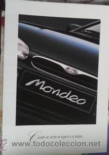 FOLLETO FORD MONDEO, 1994 (Coches y Motocicletas Antiguas y Clásicas - Catálogos, Publicidad y Libros de mecánica)