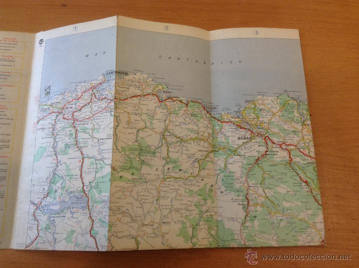 Michelin Mapa 42 De 1954 Burgos San Sebastian Buy Catalogs