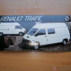 Coches y Motocicletas: CATALOGO RENAULT TRAFIC. Lote 43772239