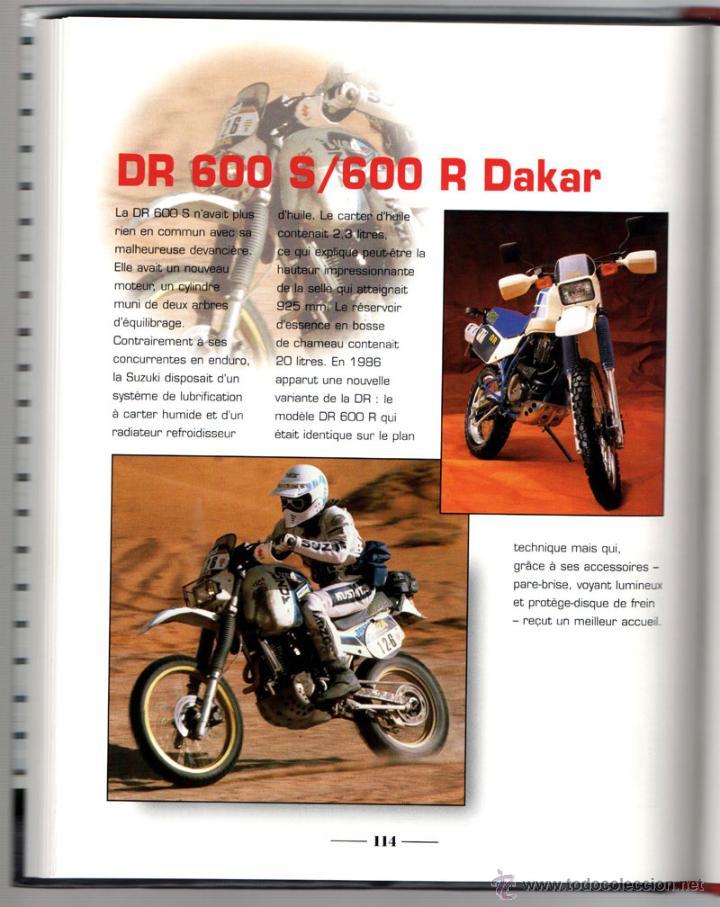 Coches y Motocicletas: LIBRO SUZUKI TOUS LES MODELES DEPUIS 1970 - Foto 4 - 117877703