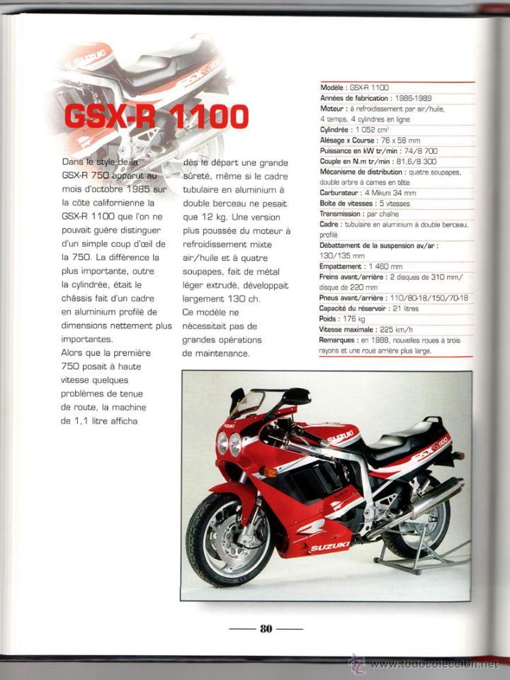 Coches y Motocicletas: LIBRO SUZUKI TOUS LES MODELES DEPUIS 1970 - Foto 5 - 117877703