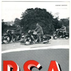 Coches y Motocicletas: CATALOGO MOTOS BSA. Lote 43931062