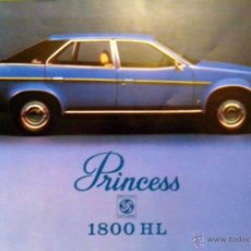 Coches y Motocicletas: BRITISH PRINCESS 1800 HL - CATÁLOGO AUTOMÓVIL (ALEMÁN). Lote 44004636