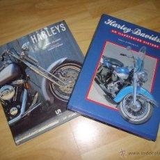 Coches y Motocicletas: RARO LIBRO HARLEY DAVIDSON AN ILLUSTRATED HISTORY HISTORIA CHOPPER CUSTOM RETRO VINTAGE SPORTSTER. Lote 44032537