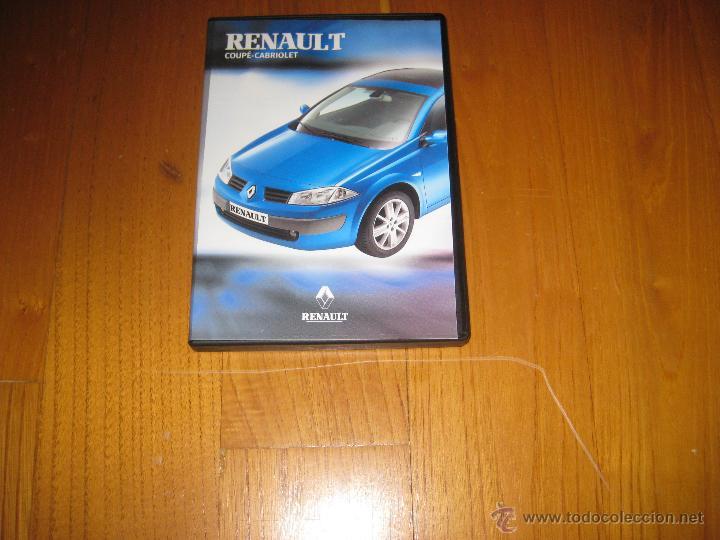 RENAULT MEGANE COUPÉ CABRIOLET DVD OFICIAL FEBRERO 2004 (Coches y Motocicletas Antiguas y Clásicas - Catálogos, Publicidad y Libros de mecánica)