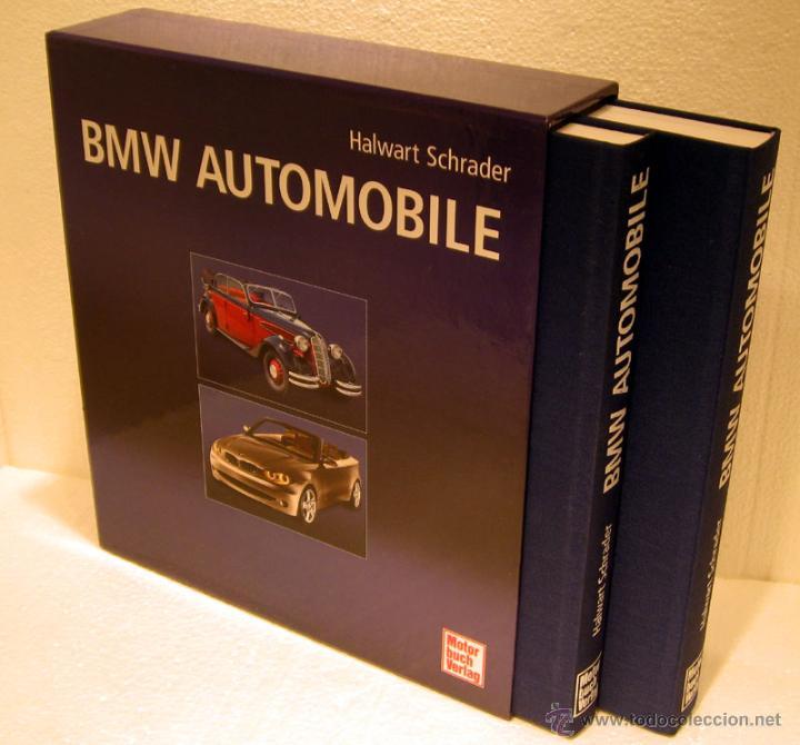 LIBRO BMW AUTOMOBILE (Coches y Motocicletas Antiguas y Clásicas - Catálogos, Publicidad y Libros de mecánica)