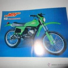 Coches y Motocicletas: CATALOGO MOTO MTV 50 CROSS. Lote 60831450