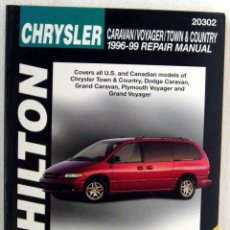 Coches y Motocicletas: LIBRO CHRYSLER VOYAGER / CARAVAN / TOWN & COUNTRY (1996/99). CHILTON REPAIR MANUAL. Lote 44216484