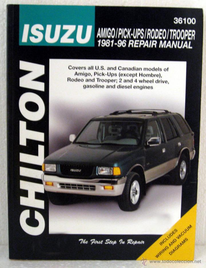 Chilton Workshop Manual Isuzu Amigo Pick-Ups Rodeo Trooper