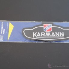 Coches y Motocicletas: KARMANN GHIA - PARCHE TELA. Lote 44266606
