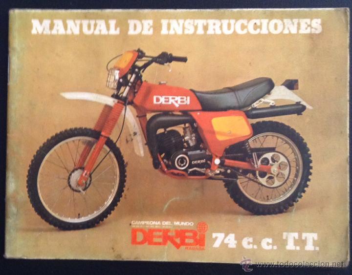 Catalogo manual de instrucciones original derbi comprar for Catalogo derbi