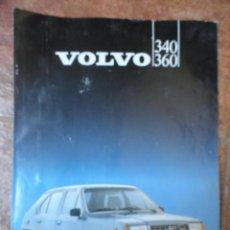 Coches y Motocicletas: MANUAL DE COCHE VOLVO 340 360 (1983). Lote 101356723