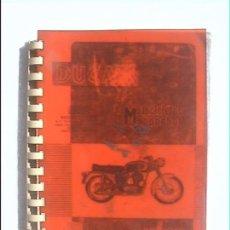 Coches y Motocicletas: DUCATI 160 TURISMO 160 SPORT 200 TURISMO 200 E 250 DELUXE. Lote 44334718