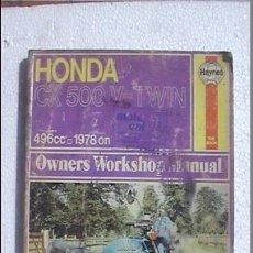 Coches y Motocicletas: HONDA CX 500 V TWIN 496CC 1978. Lote 44335130
