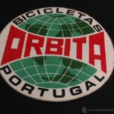 Coches y Motocicletas: PEGATINA AÑOS 80 DE BICICLETAS ORBITA. Lote 44384561