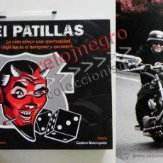 Coches y Motocicletas: EL PATILLAS - LIBRO LLENO DE FOTOS D HARLEY DAVIDSON TATUAJES Y MOTEROS VIAJE MOTO FOTOGRAFÍA PRADES. Lote 85841946