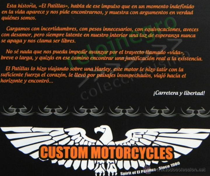 Coches y Motocicletas: EL PATILLAS - LIBRO LLENO DE FOTOS D HARLEY DAVIDSON TATUAJES Y MOTEROS VIAJE MOTO FOTOGRAFÍA PRADES - Foto 2 - 85841946
