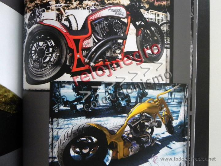 Coches y Motocicletas: EL PATILLAS - LIBRO LLENO DE FOTOS D HARLEY DAVIDSON TATUAJES Y MOTEROS VIAJE MOTO FOTOGRAFÍA PRADES - Foto 3 - 85841946