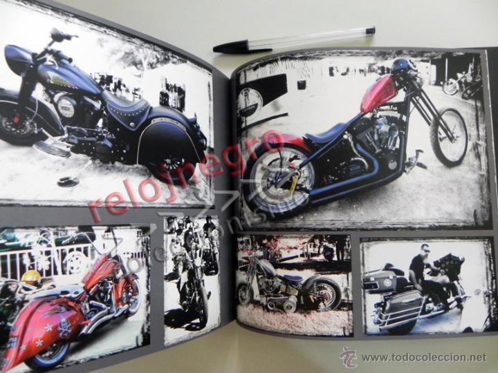 Coches y Motocicletas: EL PATILLAS - LIBRO LLENO DE FOTOS D HARLEY DAVIDSON TATUAJES Y MOTEROS VIAJE MOTO FOTOGRAFÍA PRADES - Foto 5 - 85841946