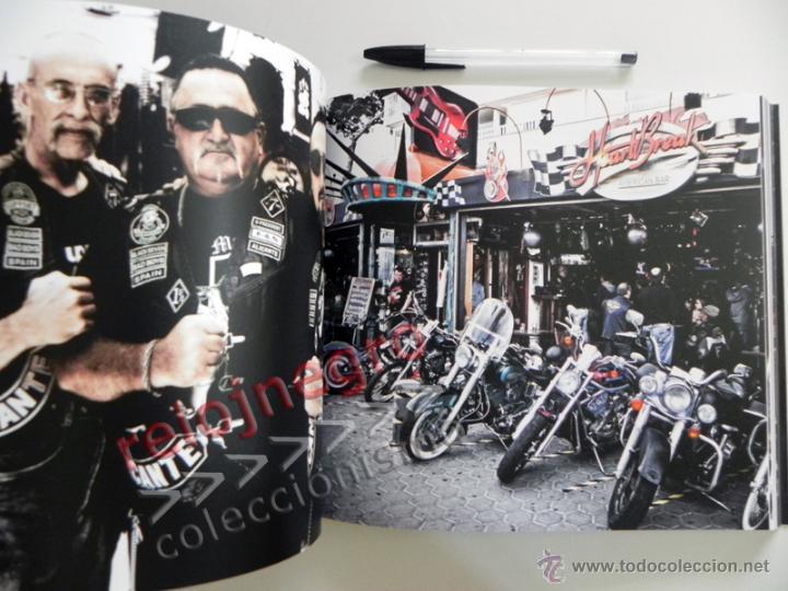 Coches y Motocicletas: EL PATILLAS - LIBRO LLENO DE FOTOS D HARLEY DAVIDSON TATUAJES Y MOTEROS VIAJE MOTO FOTOGRAFÍA PRADES - Foto 7 - 85841946