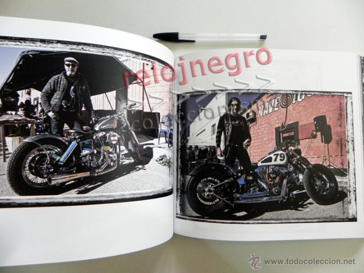 Coches y Motocicletas: EL PATILLAS - LIBRO LLENO DE FOTOS D HARLEY DAVIDSON TATUAJES Y MOTEROS VIAJE MOTO FOTOGRAFÍA PRADES - Foto 9 - 85841946