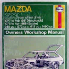 Coches y Motocicletas: LIBRO MAZDA 323 1977 / 1986 - MANUAL DE TALLER Y MANTENIMIENTO. HAYNES. Lote 44703991