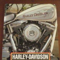 Coches y Motocicletas: LIBRO HARLEY DAVIDSON. JIM LENSVELD. BRACKEN BOOKS. FACTORY AND CUSTOM. DREAM MACHINES. MOTOCICLETAS. Lote 44716802