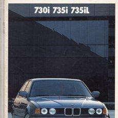 Coches y Motocicletas: CATALOGO PUBLICITARIO BMW 730I BMW 735I Y BMW 735IL (ORIGINAL) IDIOMA ESPAÑOL 43 PAGINAS. . Lote 44745375