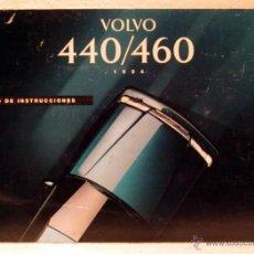 Coches y Motocicletas: MANUAL INSTRUCCIONES USUARIO VOLVO 440 / 460 1994. Lote 44845825