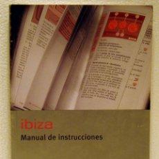 Coches y Motocicletas: MANUAL INSTRUCCIONES SEAT IBIZA 2003. Lote 44851663