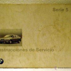 Coches y Motocicletas: MANUAL INSTRUCCIONES BMW SERIE 5 E-39 1997. Lote 44851784