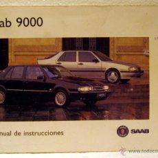 Coches y Motocicletas: MANUAL INSTRUCCIONES SAAB 9000 1996. Lote 44852064