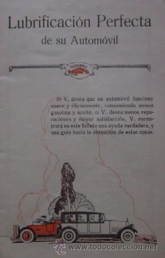 Coches y Motocicletas: LUBRIFICACION PERFECTA 1924 - Foto 2 - 45052477