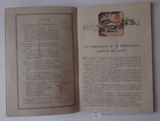 Coches y Motocicletas: LUBRIFICACION PERFECTA 1924 - Foto 3 - 45052477