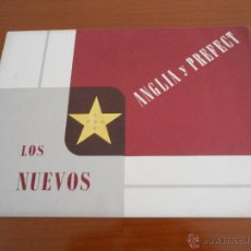 Coches y Motocicletas: CATALOGO FORD ANGLIA Y FORD PREFECT. Lote 45175168