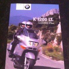 Coches y Motocicletas: CATÁLOGO MOTO BMW K 1200 LT AÑO 2001. Lote 45241257