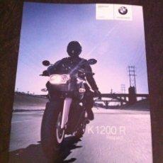 Coches y Motocicletas: CATÁLOGO MOTO BMW K 1200 R AÑO 2007. Lote 45241298