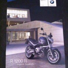 Coches y Motocicletas: CATÁLOGO MOTO BMW R 1200 R AÑO 2007. Lote 45242289
