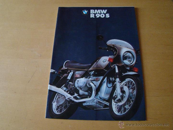BROCHURE CATALOGO FOLLETO MOTOCICLETAS BMW R90 S (Coches y Motocicletas Antiguas y Clásicas - Catálogos, Publicidad y Libros de mecánica)