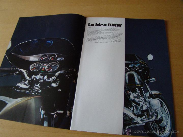 Coches y Motocicletas: brochure catalogo folleto motocicletas BMW R90 S - Foto 2 - 150953441