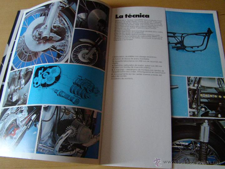 Coches y Motocicletas: brochure catalogo folleto motocicletas BMW R90 S - Foto 5 - 150953441