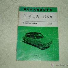 Coches y Motocicletas - Manual simca 1200 - 45347227