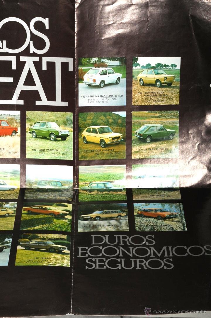 Coches y Motocicletas: CATALOGO DESPLEGABLE LOS SEAT - Foto 2 - 45390143