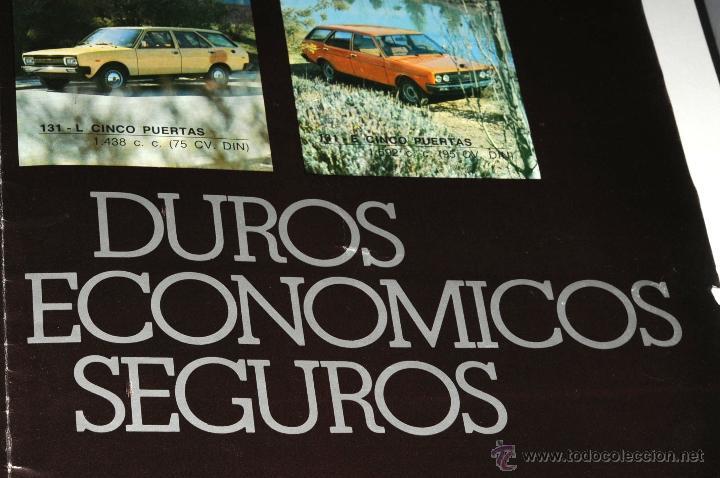 Coches y Motocicletas: CATALOGO DESPLEGABLE LOS SEAT - Foto 3 - 45390143