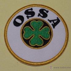 Coches y Motocicletas: OSSA PARCHE BORDADO. Lote 45635741