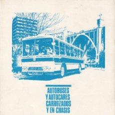 Coches y Motocicletas: PUBLICIDAD REVISTA 1967 - BARREIROS AUTOBUSES Y AUTOCARES CARROZADOS Y EN CHASIS. Lote 152736890